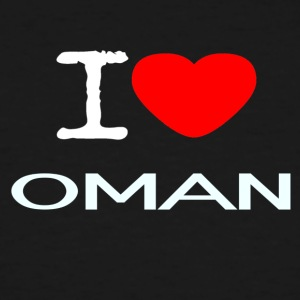 I LOVE OMAN - Men's Tall T-Shirt
