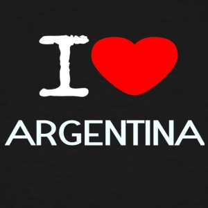 I LOVE ARGENTINA - Men's Tall T-Shirt