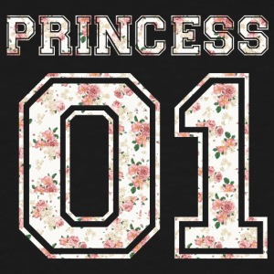Princess_01_vintage_flower_bunt - Men's Tall T-Shirt