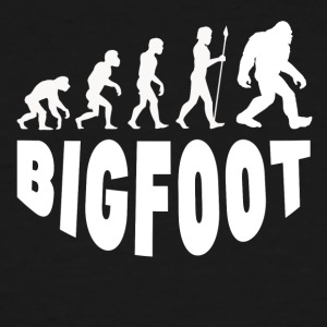 Bigfoot Evolution - Men's Tall T-Shirt
