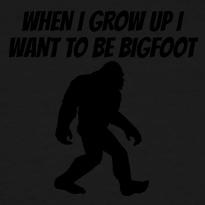 I Want To Be Bigfoot - Men's Tall T-Shirt