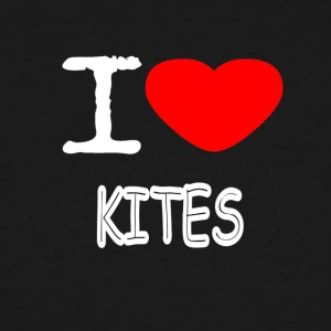 I LOVE KITES - Men's Tall T-Shirt