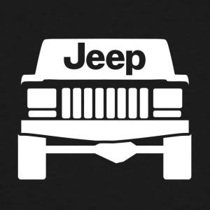 jeep white9505 - Men's Tall T-Shirt
