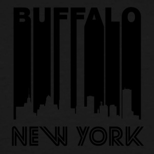 Retro Buffalo Skyline - Men's Tall T-Shirt