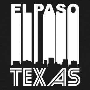 Retro El Paso Skyline - Men's Tall T-Shirt