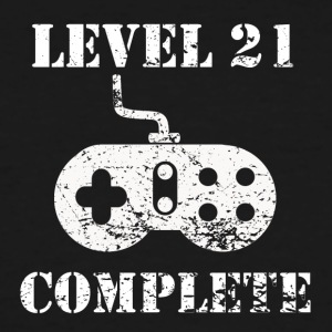 Level 21 Complete 21st Birthday - Men's Tall T-Shirt