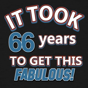 66th birthday party - Men's Tall T-Shirt
