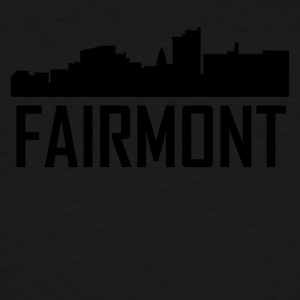 Fairmont West Virginia City Skyline - Men's Tall T-Shirt