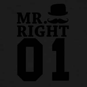 Mr Right 01 - Men's Tall T-Shirt