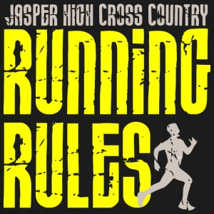 Jasper High Cross Country Running Rules - Men's Tall T-Shirt