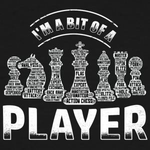 Chess Player - Men's Tall T-Shirt