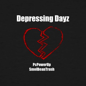 Depressing Dayz - Men's Tall T-Shirt