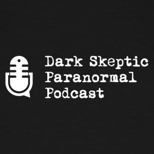 Dark Skeptic Paranormal Podcast Logo PNG - Men's Tall T-Shirt