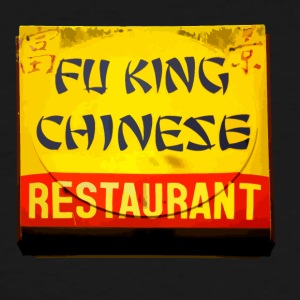 Fu King Chinese Restaurant - Men's Tall T-Shirt