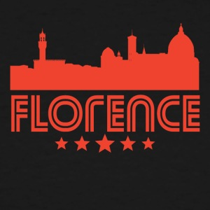 Retro Florence Skyline - Men's Tall T-Shirt