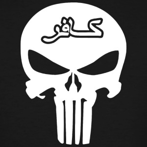 Punisher Infidel Skull - Men's Tall T-Shirt
