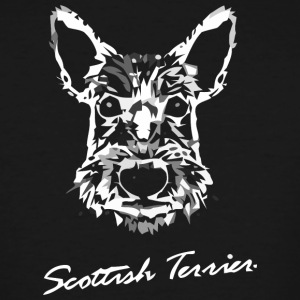 scottie terrier - Men's Tall T-Shirt