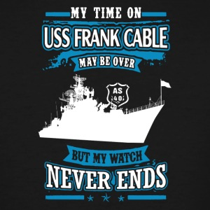 USS Frank Cable Shirt - Men's Tall T-Shirt