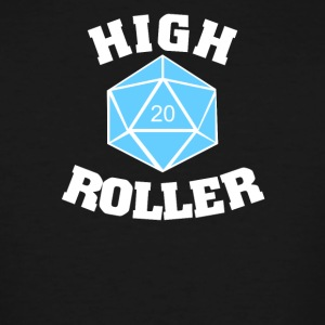 High roller 20 sided die - Men's Tall T-Shirt