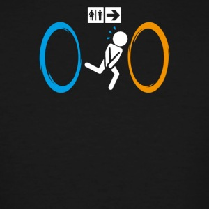 Funny Portal 2 - Men's Tall T-Shirt