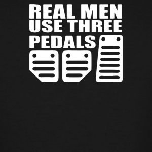 Real Men Use Pedals - Men's Tall T-Shirt