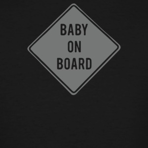Baby on Board - Men's Tall T-Shirt