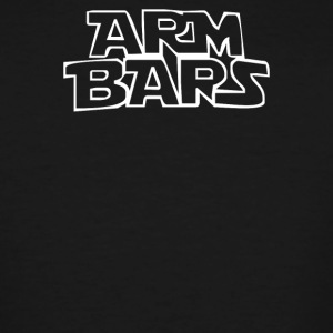 ARM BARS by Cageside Fight Co Funny Brazilian Ji - Men's Tall T-Shirt