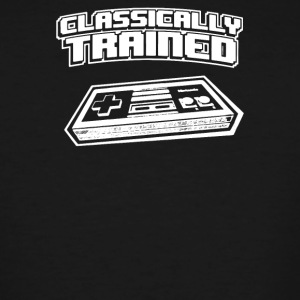 Classically Trained Video Game Console - Men's Tall T-Shirt