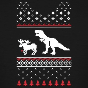 Christmas Dino - Men's Tall T-Shirt