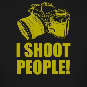 I Shoot People - Men's Tall T-Shirt