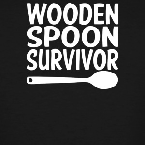 Wooden Spoon Survivor - Men's Tall T-Shirt