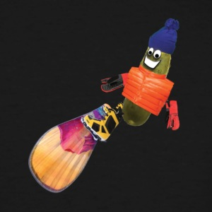 Snowboard Pickle - Men's Tall T-Shirt
