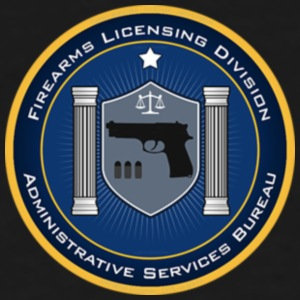 FireArms Licensing Division T-Shirt - Men's Tall T-Shirt