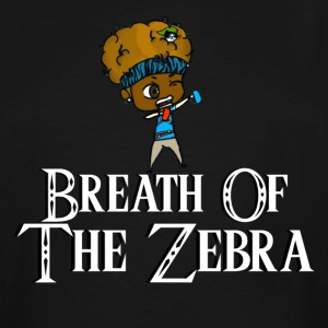 Breath Of The Zebra | Zebra Nation - Men's Tall T-Shirt