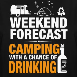 CAMPING HOLIDAY , DRINKING T-Shirt - Men's Tall T-Shirt