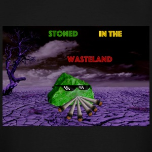 Stoned In The Wasteland - Men's Tall T-Shirt