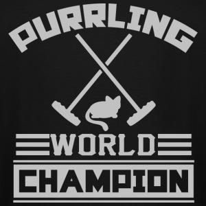 Purrling World Champion - Men's Tall T-Shirt