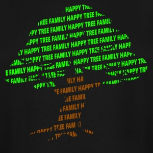 Happy Tree Family - Men's Tall T-Shirt