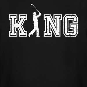 King of Golf graphic golfer shirt - Men's Tall T-Shirt