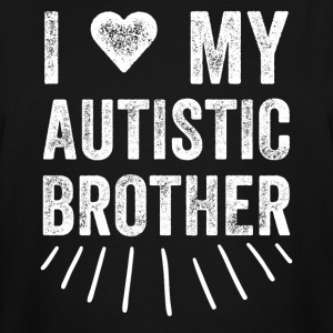 I love my autistic brother - Men's Tall T-Shirt