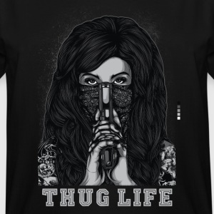 Thug Life T-shirt - Men's Tall T-Shirt