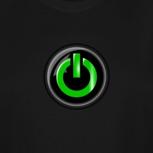 PowerOnGaming Channel Logo - Men's Tall T-Shirt