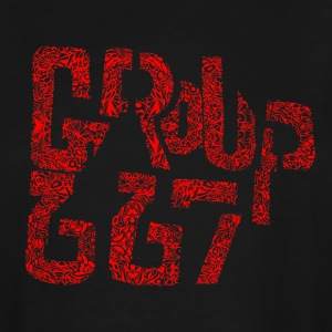 Group667 RED Scribble - Men's Tall T-Shirt