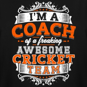I'm a coach of a freaking awesome cricket team - Men's Tall T-Shirt