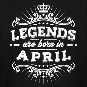 Legends Are Born In April Birthday Shirt - Men's Tall T-Shirt