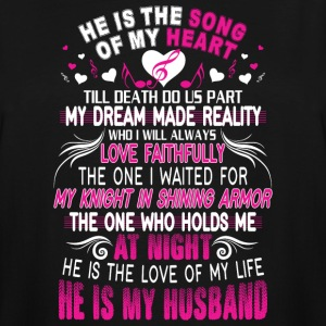 He Is My Husband T Shirt - Men's Tall T-Shirt