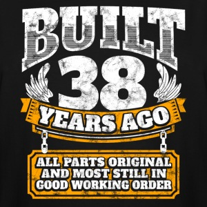 38th birthday gift idea: Built 38 years ago Shirt - Men's Tall T-Shirt