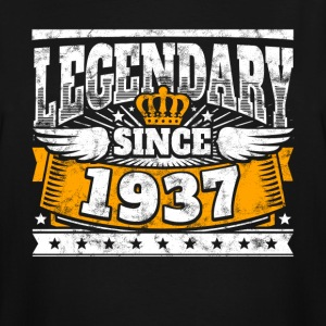 Legend Birthday: Legendary since 1937 birth year - Men's Tall T-Shirt