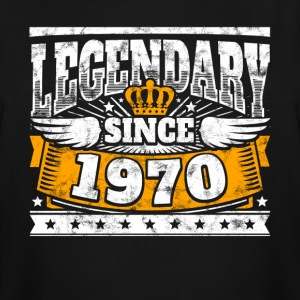 Legend Birthday: Legendary since 1970 birth year - Men's Tall T-Shirt