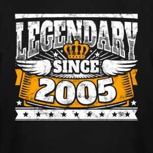 Legend Birthday: Legendary since 2005 birth year - Men's Tall T-Shirt